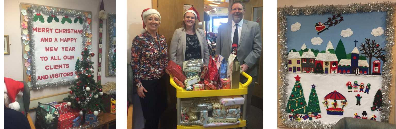 The Spirit Of Christmas Tollers Staff Give To A Worthy Cause