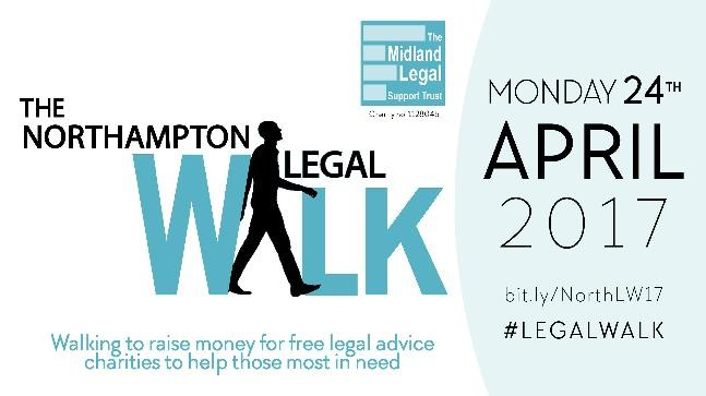 Tollers Take Part In The Northampton Legal Walk 2017