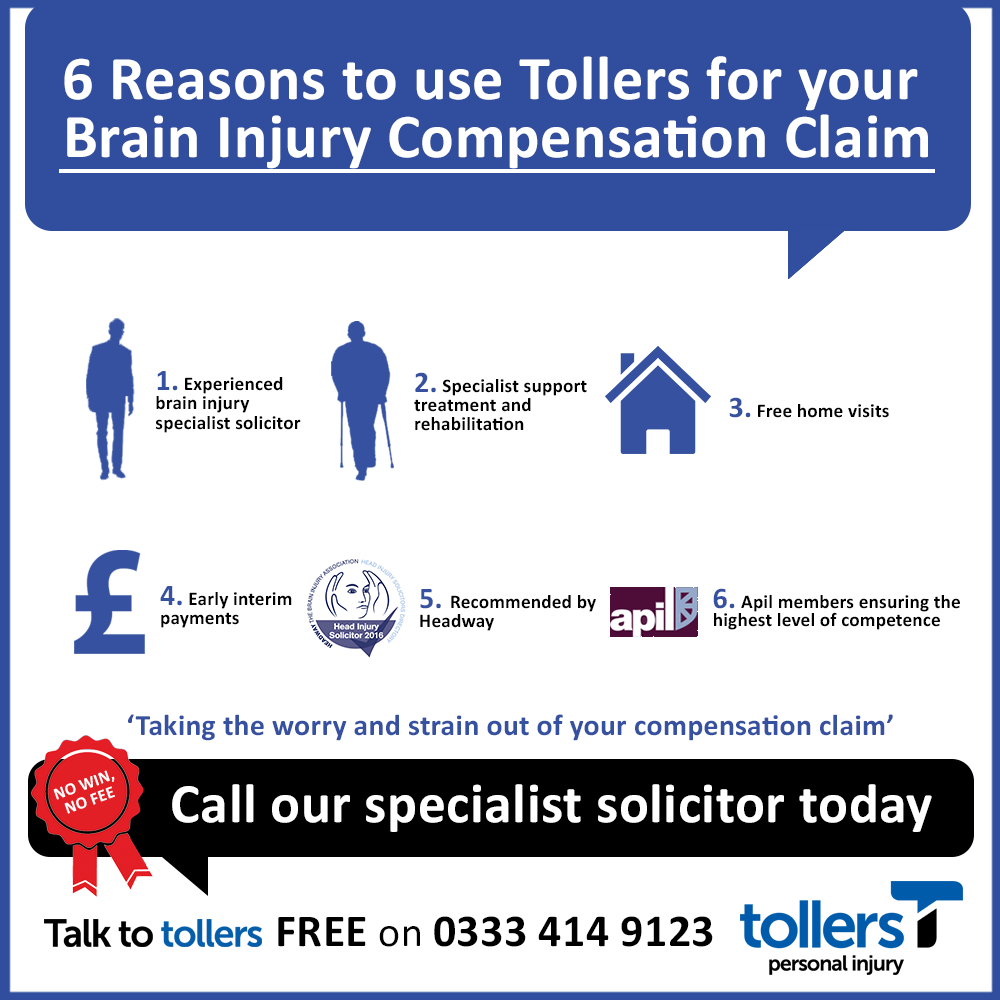 6 Reasons To Use Tollers For Your Brain Injury Compensation Claim