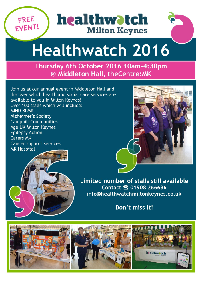 Ready To Answer Your Questions At Healthwatch Milton Keynes