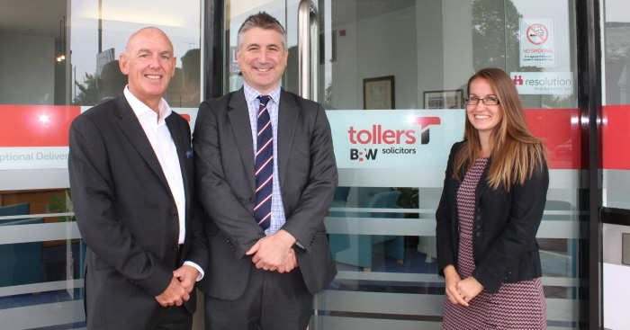 Tollers Solicitors Growing in Hertfordshire